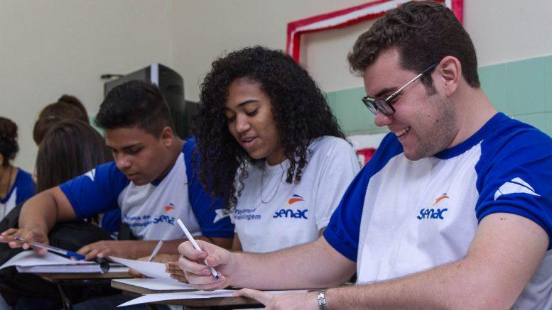 Estão abertas as inscrições para os cursos de capacitação profissional do Senac – GRÁTIS.