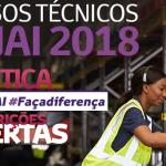 Senai abre inscrições para Técnico em Logística gratuito – 2018 INSCRIÇÕES ABERTAS!