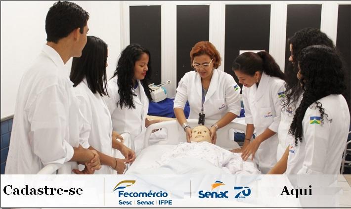 Curso tecnico em enfermagem df gratuito